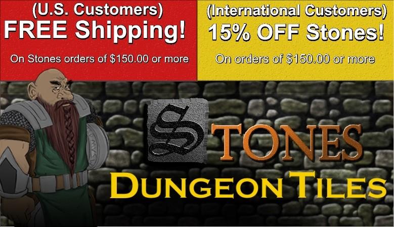 Stones Dungeon Tiles