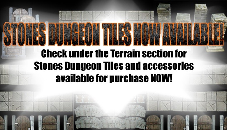 Stones Dungeon Tiles Now Available