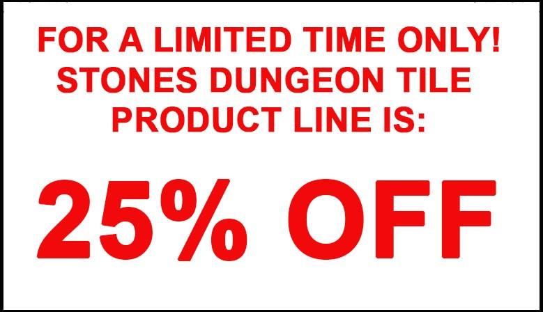 Stones Dungeon Tiles Sale!