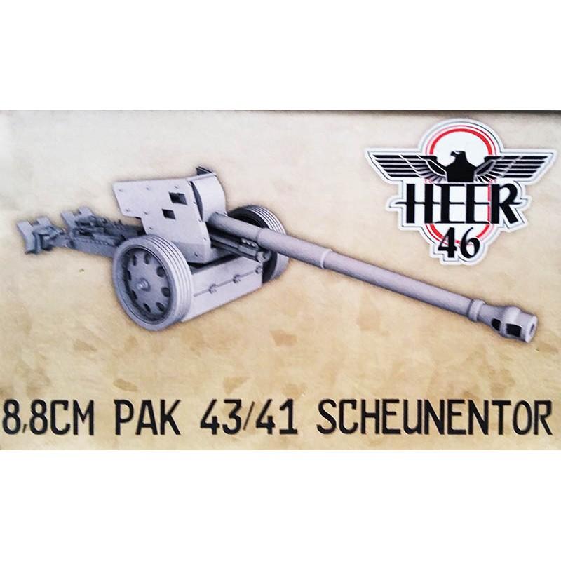 German PaK 43/41 88mm (Scheunentor) Anti-tank gun 28mm WWII