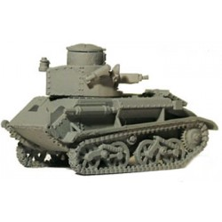 British Vickers VI-B Light Tank 28mm WWII